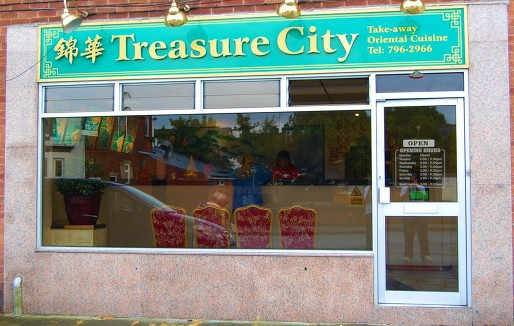 Treasure City Takeaway - Whitefield